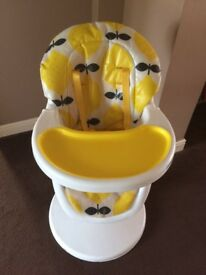 Cosatto adjustable high chair