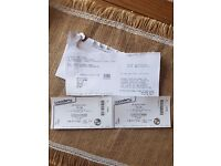 Two Tickets to The Cribs O2 Birmingham Sat 13th May Balcony seats £30