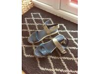 Summer sandal size 4