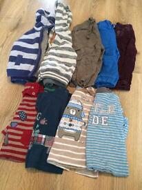 Boys 9-12 months outfits and Vest Bundle