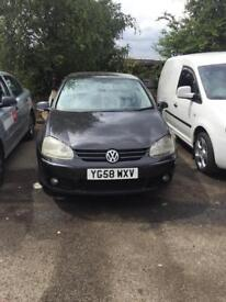 Golf mk5 2008 cheap