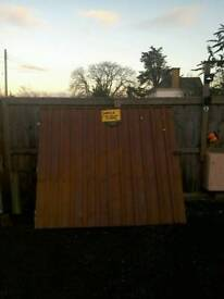 Driveway gates for sale 14ft wide and hinges