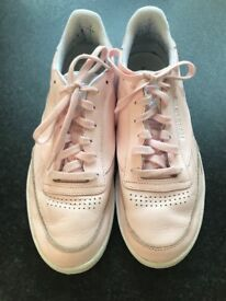 Pink Reebok Trainers