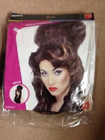 Fancy dress wig Amy Whinehouse Rehab new