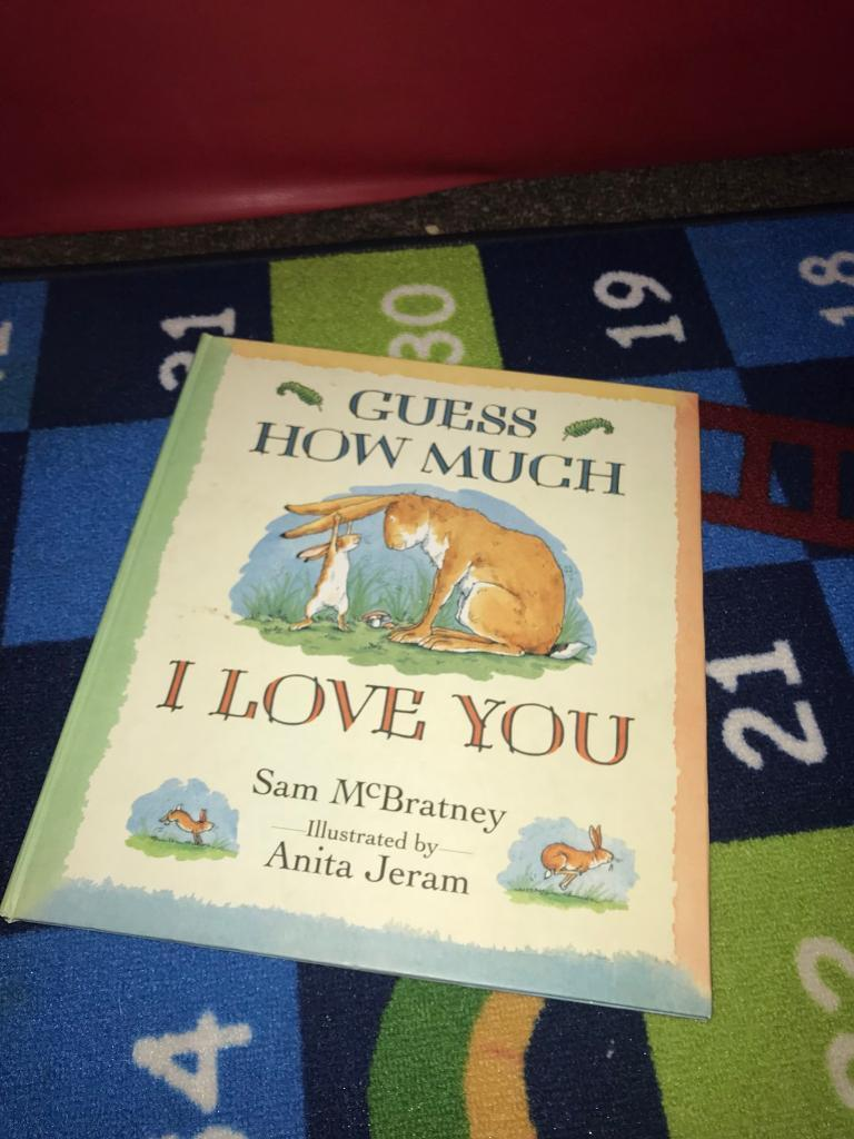Large Guess How Much I Love You book
