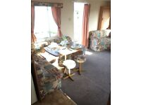 cheap static caravan for sale in mid Wales sited on park with great facilties in Borth Aberystwyth