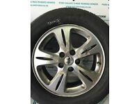FORD GALAXY MK3 S-MAX 2006-2010 ALLOY WHEEL R16 WITH 5.6 MM TYRE EJ56-2