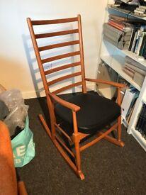 Rocking chair mid-century 1960s rocker excellent condition