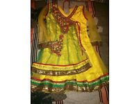 Girls' indian anarkali suits -SOLD