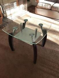 Glass coffee table in nice condition £20