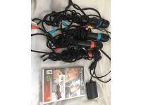 PlayStation 2 slimline black, with extras.