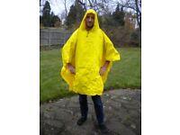 Waterproof cape x 2