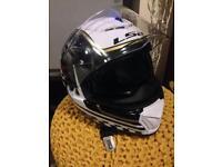 Motorbike helmet in excellent condition