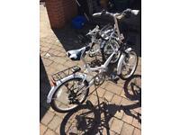 2 x Contact Northern Foldaway bikes