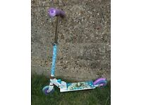 FROZEN GIRLS SCOOTER - TOY CLEARANCE
