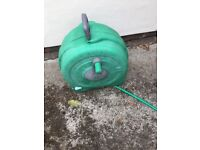 Hozelock hose pipe reel