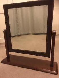 Barker and Stonehouse Sorrento Mahogany Dressing table mirror.