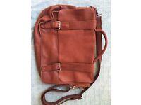 Nice White Stuff leather satchel briefcase