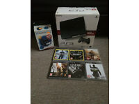 SONY PLAYSTATION 3 - 160GB - CHARCOAL BLACK