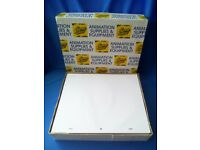 Box of Animation Paper - 12 Field Pro Grade 60gsm - Punched. RRP £65. Collection only - East Devon