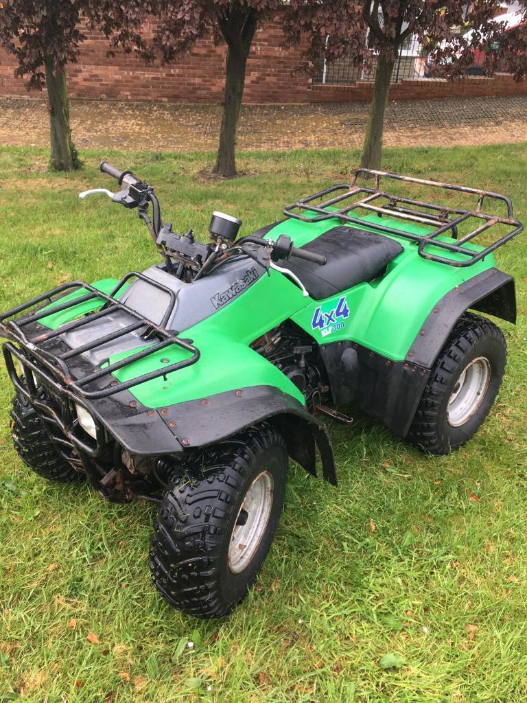 Kawasaki Klf 300c 4wd 4x4 Farm Quad  U00a31275
