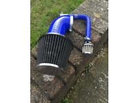 Renault Clio 1.2 K&N air filter and hoses