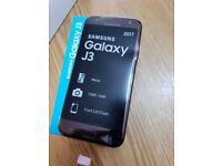 Samsung J3 2017 BLACK 16GB 4G 13MP Unlocked SINGLE Sim Smartphone