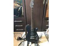 Manson MBC1 Electric Guitar With Sustainer Upgrade (Satin Black)