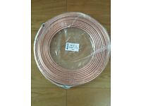30m x 10mm flexible copper pipe