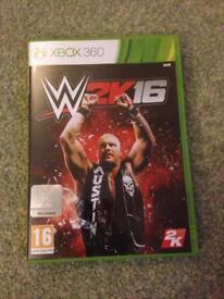 WWE 2K16 Xbox 360 - Brand new!