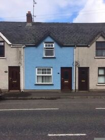 2 bedroom terrace house in brougshane village close to all amenities.
