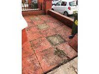 Free patio slabs / hardcore