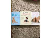 Baby whisperer book part one and two and your baby week by week book