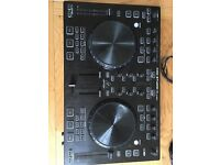 Behringer CMD Studio 4a 4-Deck DJ MIDI Controller with Headphone Jack and RCA to TRS Cable