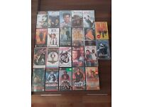 138 VHS videos in great condition - Disney, Star Wars, Simpsons, Music, and lots more