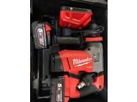 Milwaukee M18CHPX-502X cordless sds hammer drill 5.0ah m18