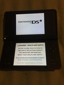 Nintendo dsi xl brown with case