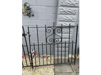 Driveway iron gates double