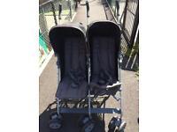 *SOLD* Mamas & Papas Kato2 Twin Stroller