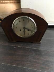 Retro decorative non working mantle chime clock bargain