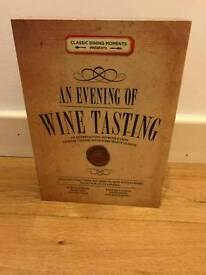 Evening of Wine Tasting Kit £13 ono
