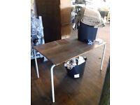 Vintage Industrial Table/Desk (READ DESCRIPTION)