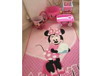 Minnie Mouse bedroom accessories