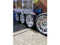 "18"" x 7 1/2j x 18 h2 alloy wheels"