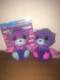 Hatchimal peacat twins. Hatched from egg.