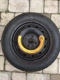Pirelli space saver spare tyre