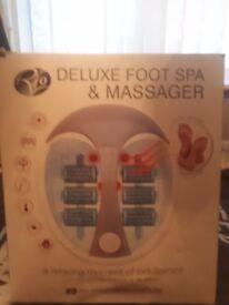 Foot spar massager