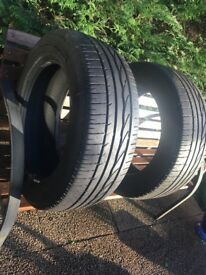 4 tyres basicly brand new