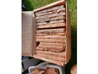 Exposed bricks brick slips tiles victorian BARGAIN rare colours