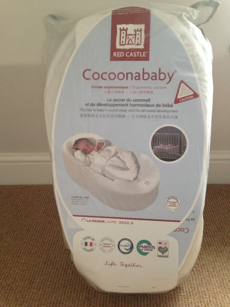 Cocoonababy - Red Castle Cocoonababy Baby Nest in immaculate condition with spare sheet
